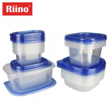 Riino 50PCS Multifunctional Food Container Including Lid