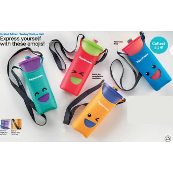 Limited Edition Tupperware Smiley Bottles 2.0L (4pcs)