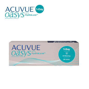 1 Day Acuvue Oasys with Hydraluxe (30pcs) Daily Disposable Contact Lens