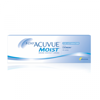 1 Day Acuvue Moist for Astigmatism (30pcs) Daily Disposable Contact Lens